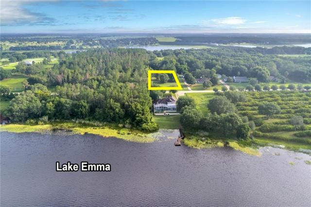 Lot 2 Lake Emma Road, Groveland, FL 34736 (MLS #O5700291) :: The Price Group
