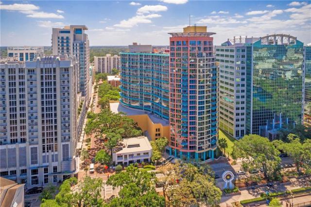 322 E Central Boulevard #814, Orlando, FL 32801 (MLS #O5701330) :: G World Properties