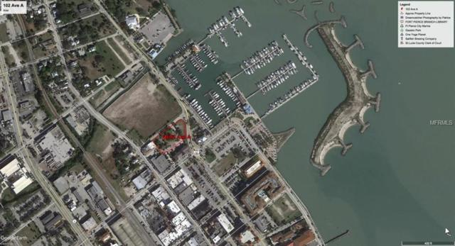 100 Avenue A, Fort Pierce, FL 34950 (MLS #O5730003) :: The Duncan Duo Team