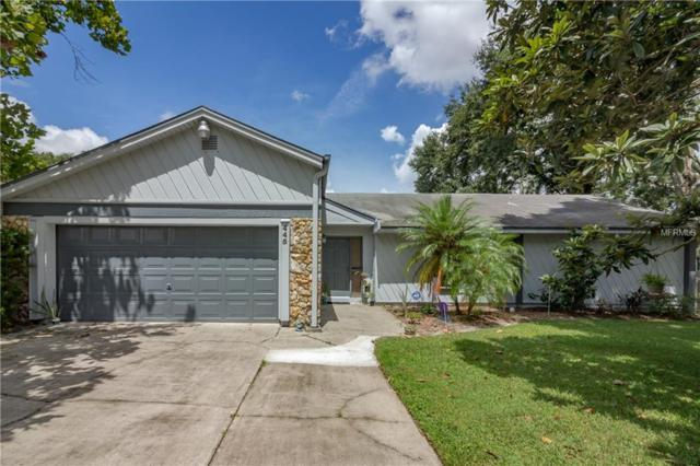 445 Forestwood Lane, Maitland, FL 32751 (MLS #O5732256) :: The Duncan Duo Team