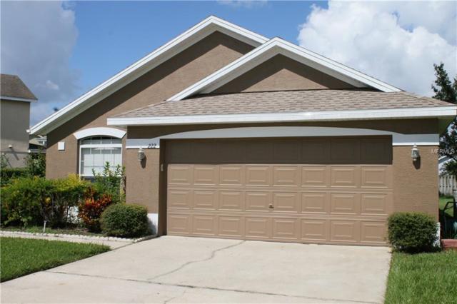 222 Bridge Creek Boulevard, Ocoee, FL 34761 (MLS #O5734305) :: Bustamante Real Estate