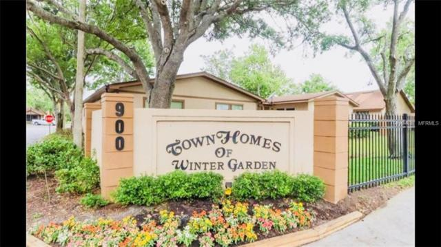 389 Douglas Way #61, Winter Garden, FL 34787 (MLS #O5734508) :: G World Properties