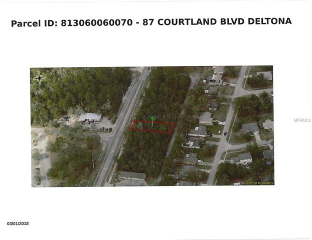 87 S Courtland Boulevard, Deltona, FL 32738 (MLS #O5736830) :: KELLER WILLIAMS ELITE PARTNERS IV REALTY