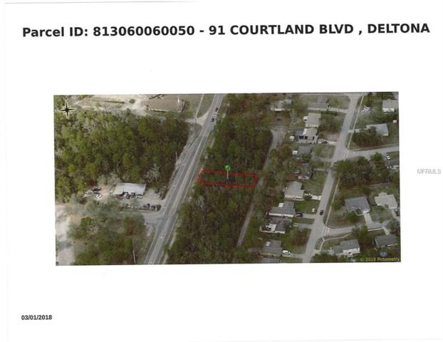 91 S Courtland Boulevard, Deltona, FL 32738 (MLS #O5736840) :: KELLER WILLIAMS ELITE PARTNERS IV REALTY