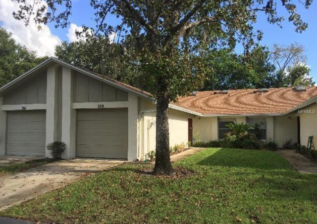 259 Hill Street #20, Casselberry, FL 32707 (MLS #O5746962) :: The Dan Grieb Home to Sell Team