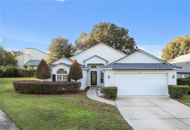 263 Churchill Drive, Longwood, FL 32779 (MLS #O5751516) :: Advanta Realty
