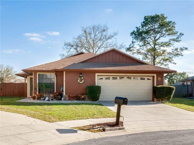 1321 Galeon Court, Winter Springs, FL 32708 (MLS #O5757051) :: The Dan Grieb Home to Sell Team
