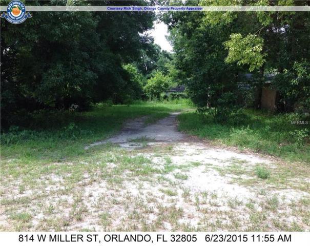 814 W Miller Street, Orlando, FL 32805 (MLS #O5762150) :: The Duncan Duo Team