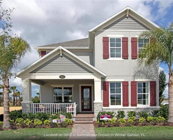 15521 Murcott Blossom Boulevard, Winter Garden, FL 34787 (MLS #O5762316) :: The Light Team