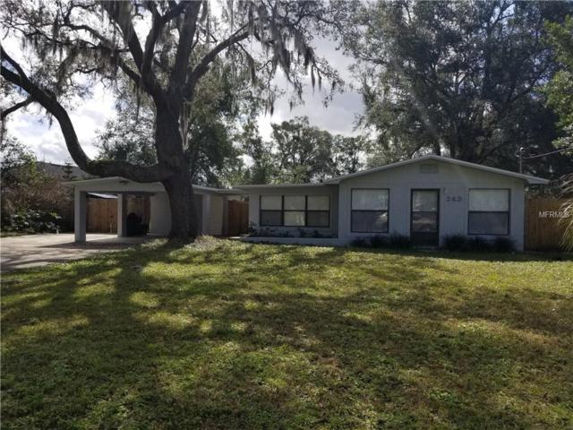 243 Acorn Drive, Longwood, FL 32750 (MLS #O5763452) :: Advanta Realty