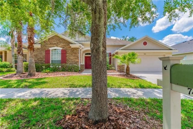 7441 Ambleside Drive, Land O Lakes, FL 34637 (MLS #O5783341) :: Team Bohannon Keller Williams, Tampa Properties