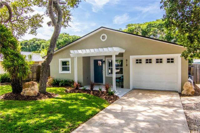 818 E 19TH Avenue, New Smyrna Beach, FL 32169 (MLS #O5783972) :: Team Bohannon Keller Williams, Tampa Properties