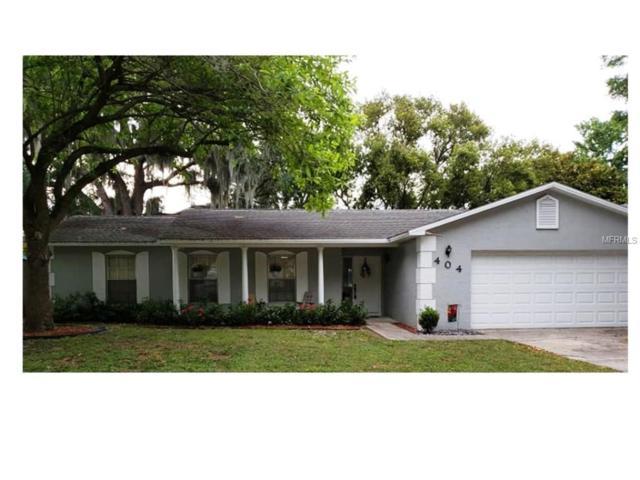 404 E Lakeshore Drive, Ocoee, FL 34761 (MLS #O5784268) :: Bustamante Real Estate