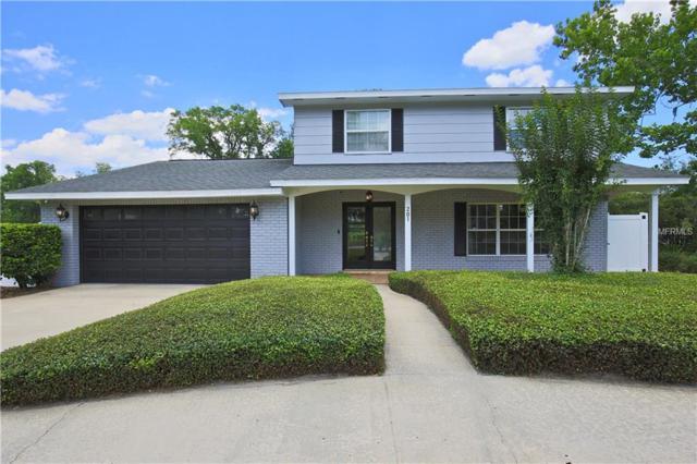 201 Dogwood Drive, Sanford, FL 32771 (MLS #O5785504) :: Team Bohannon Keller Williams, Tampa Properties