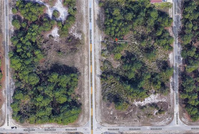 1053 Columbus Boulevard S, Lehigh Acres, FL 33974 (MLS #O5787622) :: White Sands Realty Group