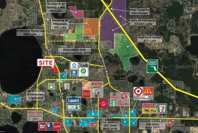 S Galena Avenue, Minneola, FL 34715 (MLS #O5795080) :: The Edge Group at Keller Williams