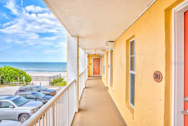 3801 S Atlantic Avenue #205, New Smyrna Beach, FL 32169 (MLS #O5800459) :: Team Bohannon Keller Williams, Tampa Properties