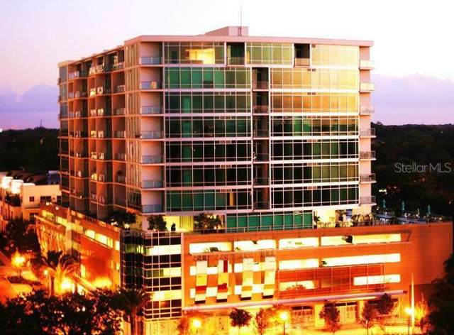 101 S Eola Drive #1121, Orlando, FL 32801 (MLS #O5800612) :: Bustamante Real Estate