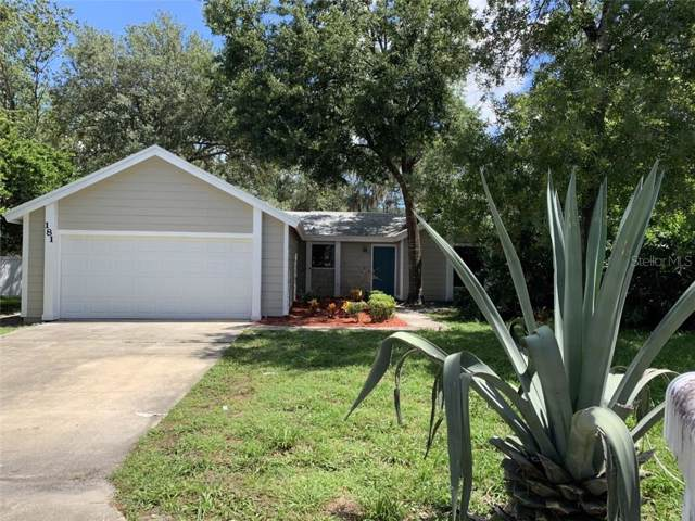 181 Wildwood Drive, Sanford, FL 32773 (MLS #O5804573) :: Lock & Key Realty
