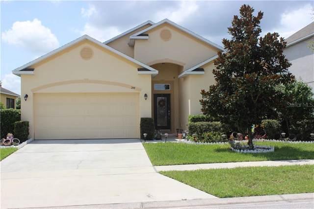 244 Milestone Drive, Haines City, FL 33844 (MLS #O5805118) :: Team Vasquez Group