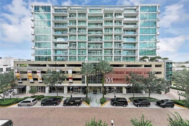101 S Eola Drive #817, Orlando, FL 32801 (MLS #O5812009) :: Florida Real Estate Sellers at Keller Williams Realty
