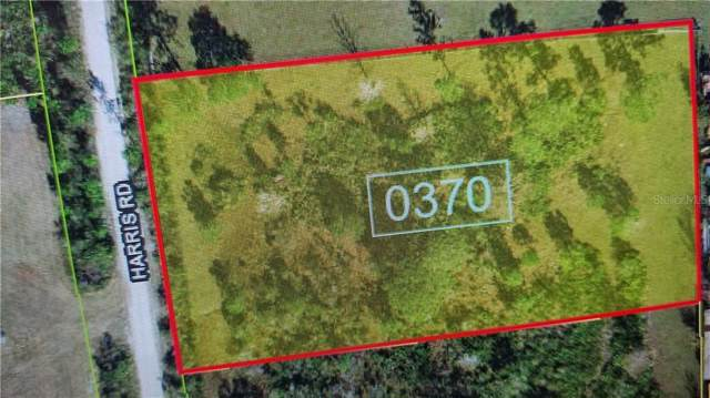 Harris Rd - Lot 0370, Saint Cloud, FL 34771 (MLS #O5813293) :: The Light Team