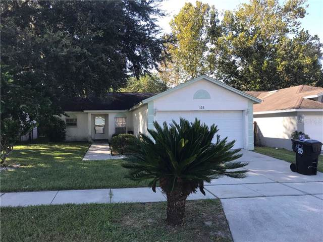 151 N Cervidae Drive, Apopka, FL 32703 (MLS #O5814267) :: Gate Arty & the Group - Keller Williams Realty Smart