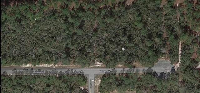 Nutmeg Avenue, Eustis, FL 32736 (MLS #O5821557) :: 54 Realty