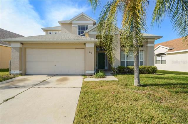 413 Downing Circle, Davenport, FL 33897 (MLS #O5831163) :: The Duncan Duo Team