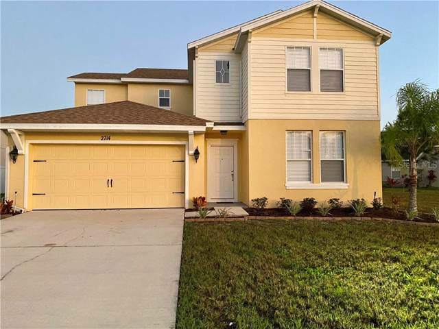2714 Eagle Cliff Drive, Kissimmee, FL 34746 (MLS #O5833572) :: Gate Arty & the Group - Keller Williams Realty Smart