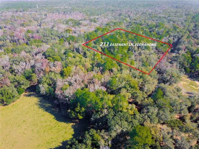 211 Easement Lane, Florahome, FL 32140 (MLS #O5836629) :: The Heidi Schrock Team