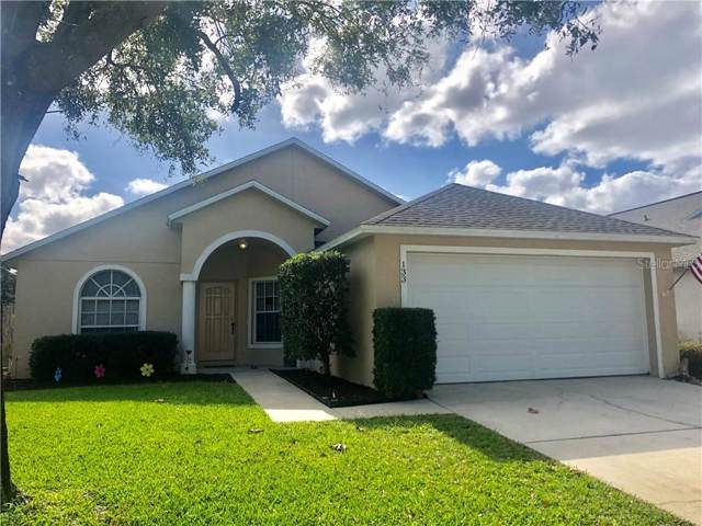 133 Wornall Drive, Sanford, FL 32771 (MLS #O5837721) :: Team Bohannon Keller Williams, Tampa Properties