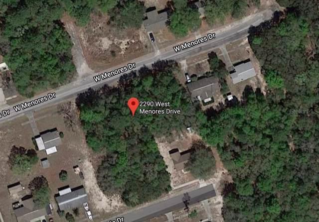 2290 W Menores Drive, Citrus Springs, FL 34434 (MLS #O5839134) :: Cartwright Realty