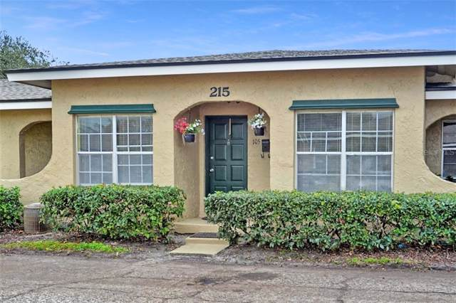 215 Apex Point #105, Casselberry, FL 32707 (MLS #O5839988) :: Armel Real Estate