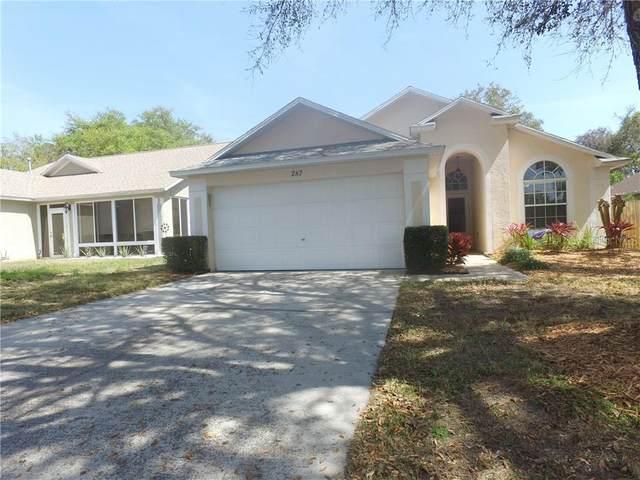 287 Pine Springs Drive, Debary, FL 32713 (MLS #O5851985) :: Team Bohannon Keller Williams, Tampa Properties