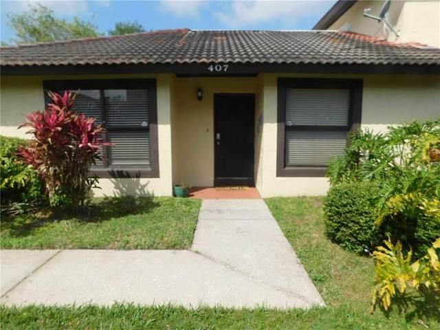 407 Hunter Circle Circle, Kissimmee, FL 34758 (MLS #O5854258) :: Team Bohannon Keller Williams, Tampa Properties