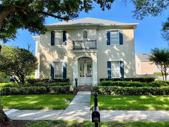 406 Iris Street, Celebration, FL 34747 (MLS #O5861514) :: Team Bohannon Keller Williams, Tampa Properties