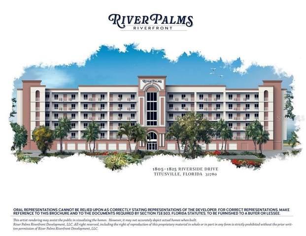 1825 Riverside Drive #201, Titusville, FL 32780 (MLS #O5866898) :: The Price Group