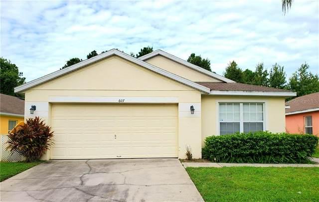 607 Sandy Ridge Drive, Davenport, FL 33896 (MLS #O5881754) :: Team Bohannon Keller Williams, Tampa Properties