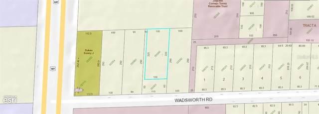 6763 Wadsworth Road, Mount Dora, FL 32757 (MLS #O5881980) :: KELLER WILLIAMS ELITE PARTNERS IV REALTY
