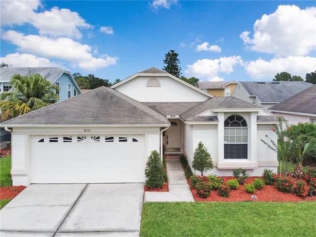 813 Cave Hollow Lane, Orlando, FL 32828 (MLS #O5885164) :: Team Bohannon Keller Williams, Tampa Properties