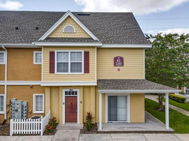 2260 San Vital Drive #107, Kissimmee, FL 34741 (MLS #O5885667) :: Your Florida House Team