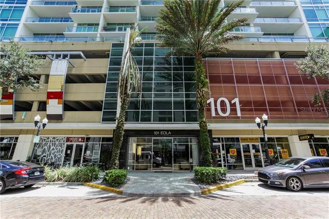 101 S Eola Drive #816, Orlando, FL 32801 (MLS #O5886606) :: The Light Team