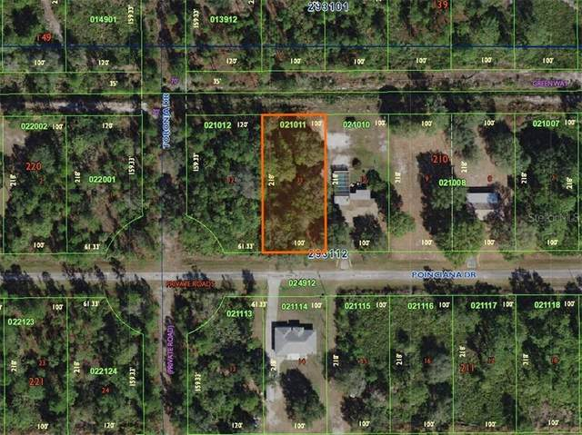 822 Poinciana Drive, Indian Lake Estates, FL 33855 (MLS #O5893060) :: Team Borham at Keller Williams Realty