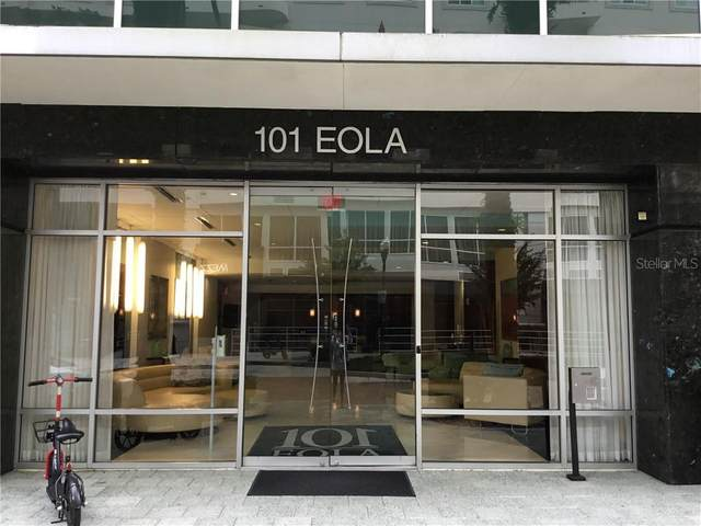 101 S Eola Drive #501, Orlando, FL 32801 (MLS #O5898420) :: Frankenstein Home Team