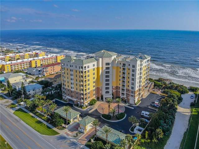 4071 S Atlantic Avenue #602, New Smyrna Beach, FL 32169 (MLS #O5899166) :: Frankenstein Home Team