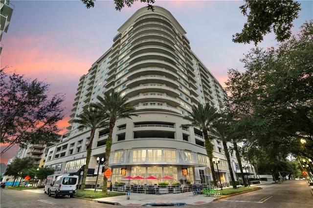 100 S Eola Drive #913, Orlando, FL 32801 (MLS #O5901113) :: Keller Williams on the Water/Sarasota