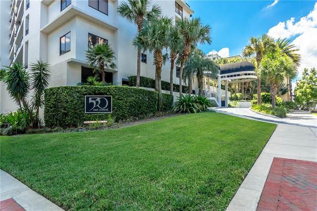 530 E Central Boulevard #1502, Orlando, FL 32801 (MLS #O5903020) :: Sarasota Property Group at NextHome Excellence