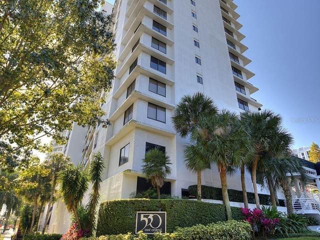 530 E Central Boulevard Unit 802, Orlando, FL 32801 (MLS #O5910221) :: Gate Arty & the Group - Keller Williams Realty Smart