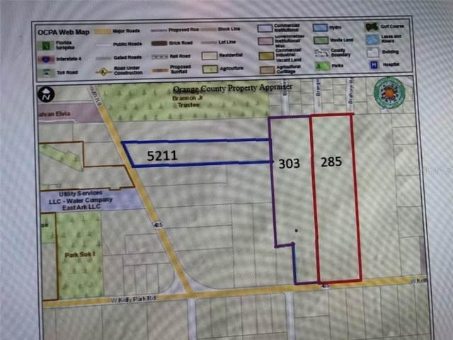 303 W Kelly Park Road, Apopka, FL 32712 (MLS #O5923478) :: Florida Life Real Estate Group